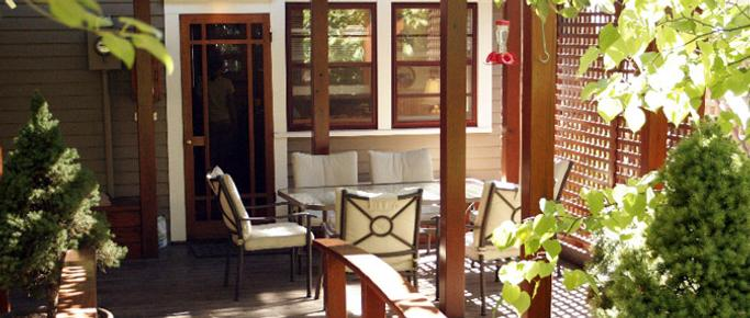 A Cowslip's Belle-Bed & Breakfast - Ashland - Patio