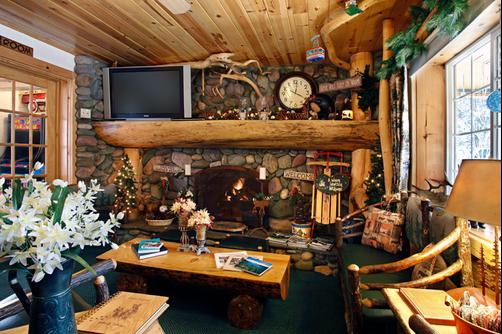 Fireside Lodge Bed and Breakfast - South Lake Tahoe - Sala de estar