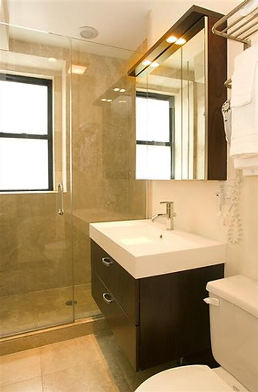 The Walton Residence - Chicago - Baño